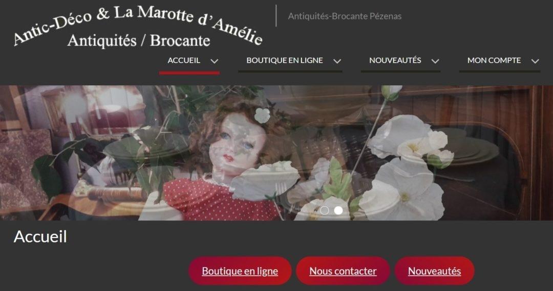 Antic-Déco et La Marotte d'Amélie